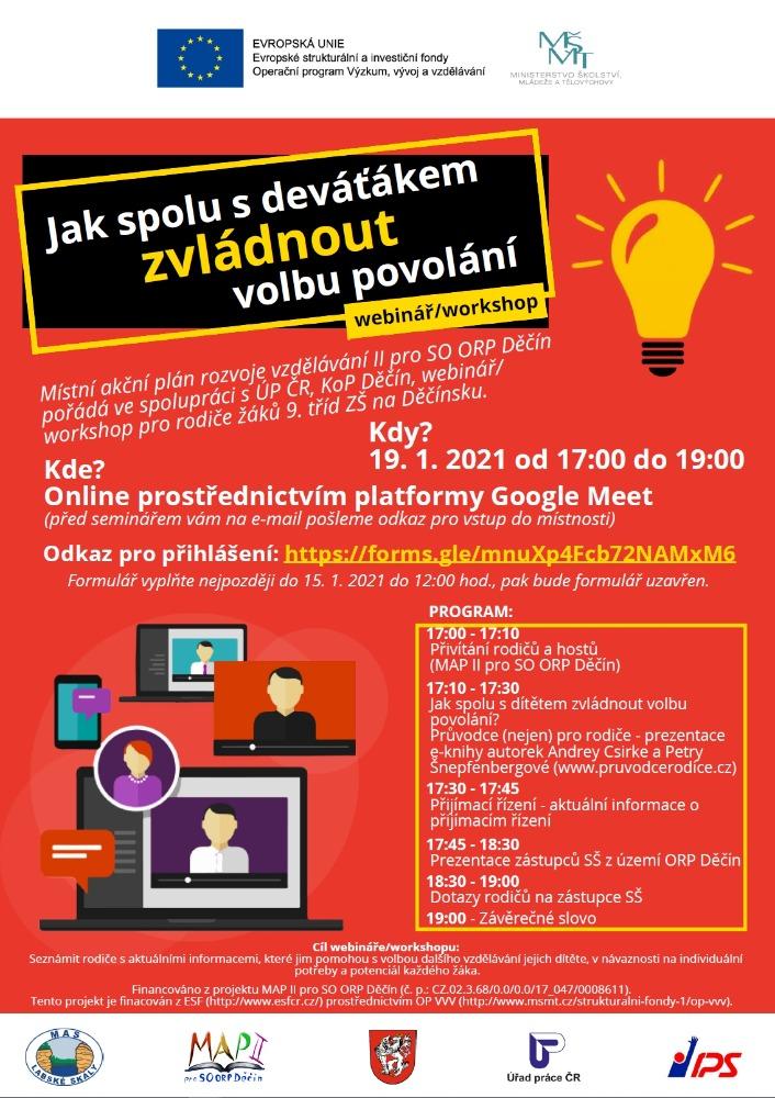 Plakát_volba povolání