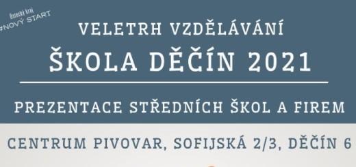 SKOLA DECIN 2021 plakat